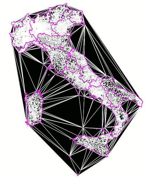delaunay-convexhull relationship