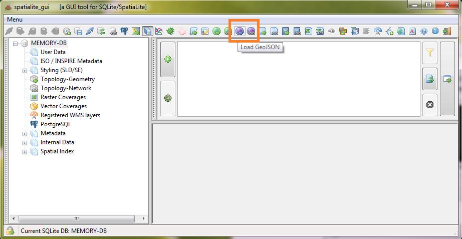 GeoJSON toolbar buttons